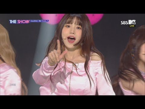 (Old Ver.) Fromis_9, LOVE BOMB [THE SHOW 181016]