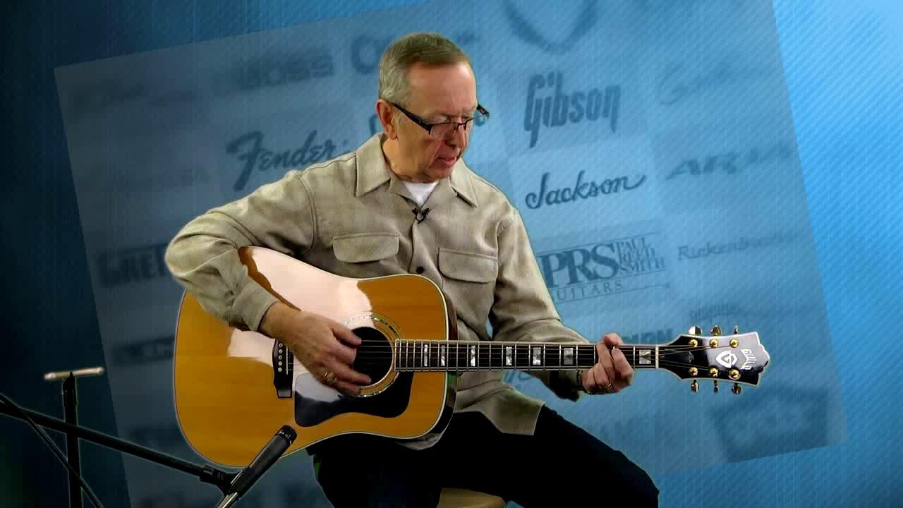 used guitar for sale 2002 guild d 55 jumbo acoustic electric pro setup youtube. Black Bedroom Furniture Sets. Home Design Ideas