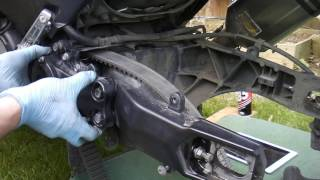 Yamaha Tmax 530 Drive Belt Replacement