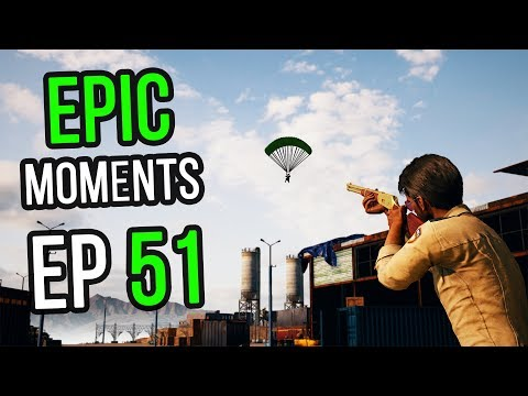 PUBG: Epic & Lucky Moments Ep. 51
