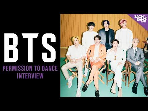 "BTS ""Permission to Dance"" Interview"