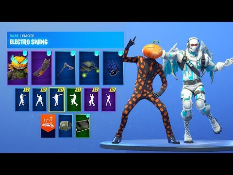 *NEW* Leaked Fortnite Skins & Emotes..!! *SPOOKY* (HALLOWEEN SKINS)