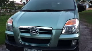 2005 Hyundai Starex Review (Start Up, In Depth Tour, Exhaust, Engine)