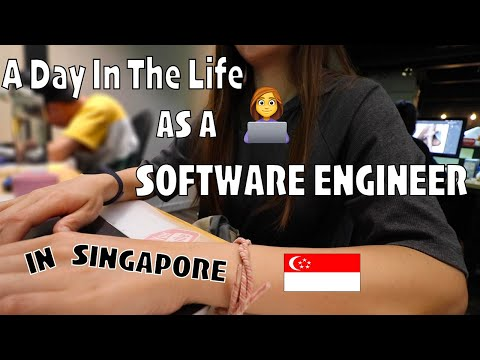 新加坡程序员的一天 | A day in the life as a Software Engineer in Singapore