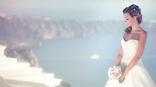 Wedding films in Santorini | Destination wedding video in Greece