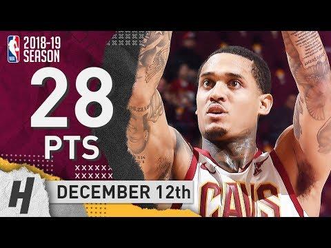 Jordan Clarkson Full Highlights Cavaliers vs Knicks 2018.12.12 - 28 Pts, 2 Ast, 5 Rebounds!