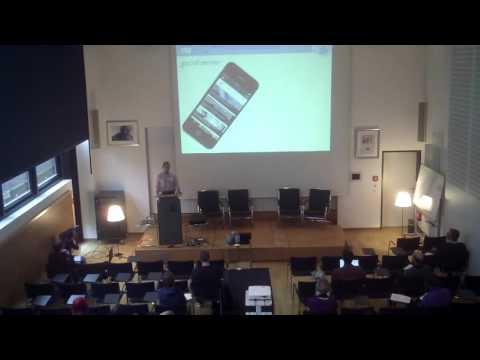 Datenlabor 2015 in Dortmund: Neil Thurman