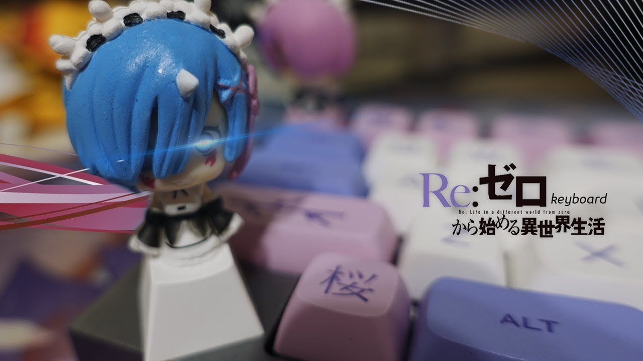 My First ANIME 60% Custom Mechanical Keyboard…