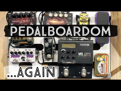 Pedalboardom: Here We Go Again! (Mono Small With M80 Club Case V2)