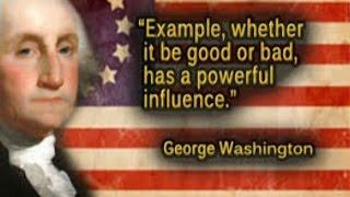 2254(3)George Washingtons Quotesワシントンの箴言(しんげん)+マラヌスの手・バフォメット=イエス・キリスト論by Hiroshi Hayashi, Japan thumbnail