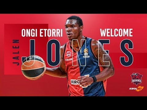 Welcome to Baskonia ★ Jalen Jones