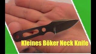 Neckknife: So klein und schon ein Messer