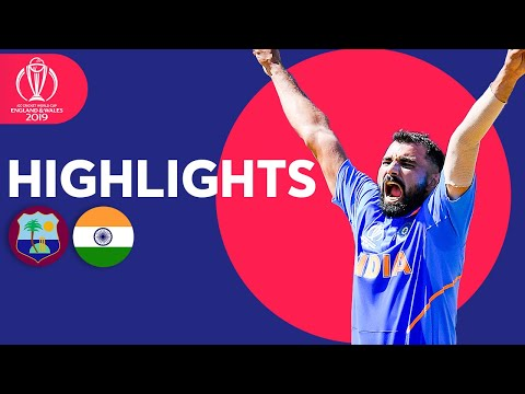 India March On With Easy Win | West Indies vs India - Match Highlights | ICC Cricket World Cup 2019
