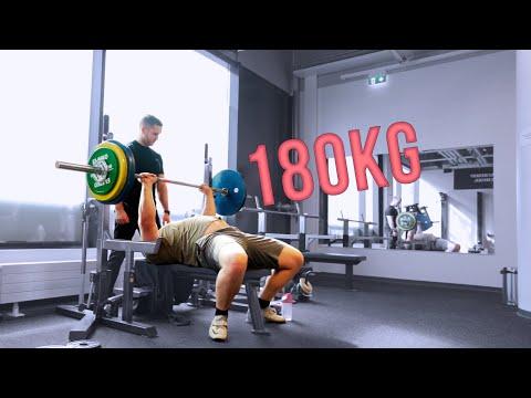 180kg Penkkiä Ja Leuanvetoja | Kuinka Usein Kannattaa Penkata