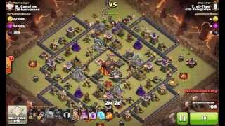 9    3 stars th10 3 sterne rh10    gowipe    clash of clans