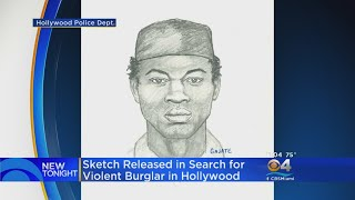 Police Release Sketch In Hollywood Sexual Assault