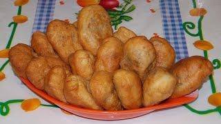 Домашние жареные пирожки с картошкой и печенкой (рецепт приготовления)