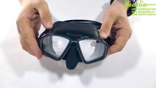 видео Маска для подводного плавания Marlin Matte (Марлин Матэ)
