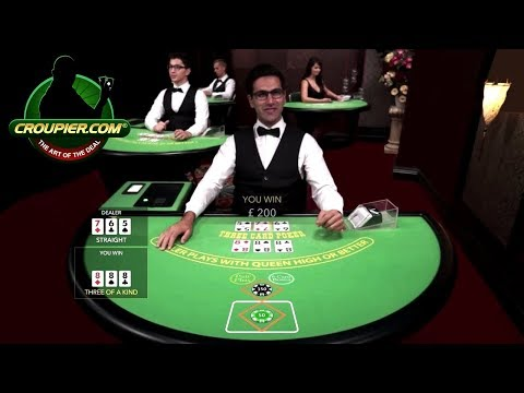 Live Dealer Three Card Poker Part 2 Nice 888 Three of a Kind Mr Green Online Casino