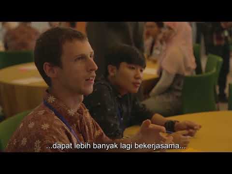 Highlight of the Australia Indonesia Youth Leaders Workshop - Indonesian subtitle