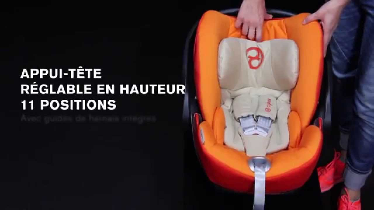 Si ge auto groupe 0 cloud q de cybex youtube for Siege auto de 0 a 3 ans