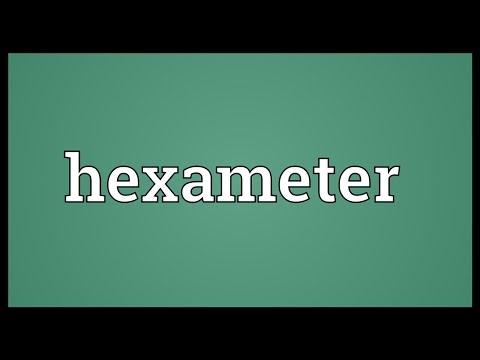 Header of hexameter