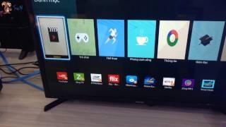 Soc - (How to use) Cách cài ứng dụng trên Internet Tivi Samsung 32 inch UA32J4303