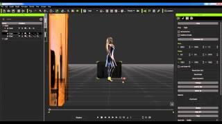 iClone 6 Создание движения Аватара по двум видео. Часть 1