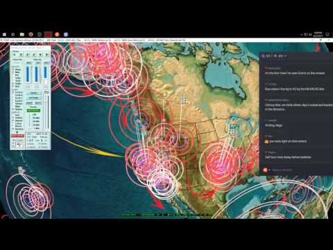 6/22/2017 -- Large M7.0 (m6.8) earthquake hits Central America -- Pacific EQ Warnings in effect