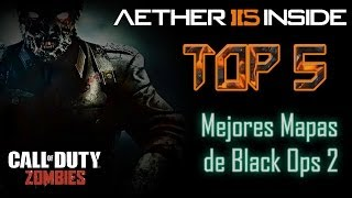 CoD Zombies // Top 5: Mejores mapas de Black Ops 2