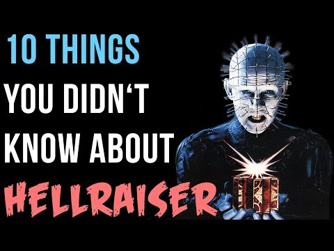 10 Things You Didn't Know About Clive Barker's Hellraiser