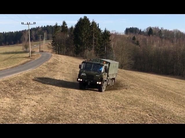Tatra 815 6x6 VVN - atmosférická V12 v akci