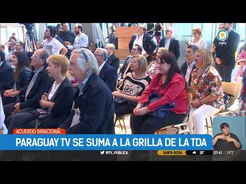 Paraguay TV se suma a la grilla de TDA | #TPANoticias