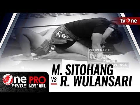 Melpida Sitohang vs Rita Wulansari - One Pride MMA