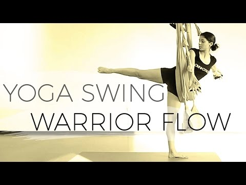 Omni Gym Yoga Swing Warrior Flow