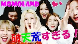 I fall in love by all means! Too pretty daily life of MOMOLAND!