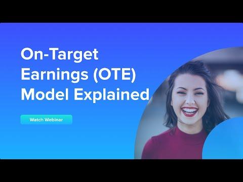 On-Target Earnings (OTE) Model