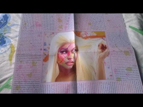 Unboxing Cd Nicki Minaj - Pink Friday: Roman Reloaded