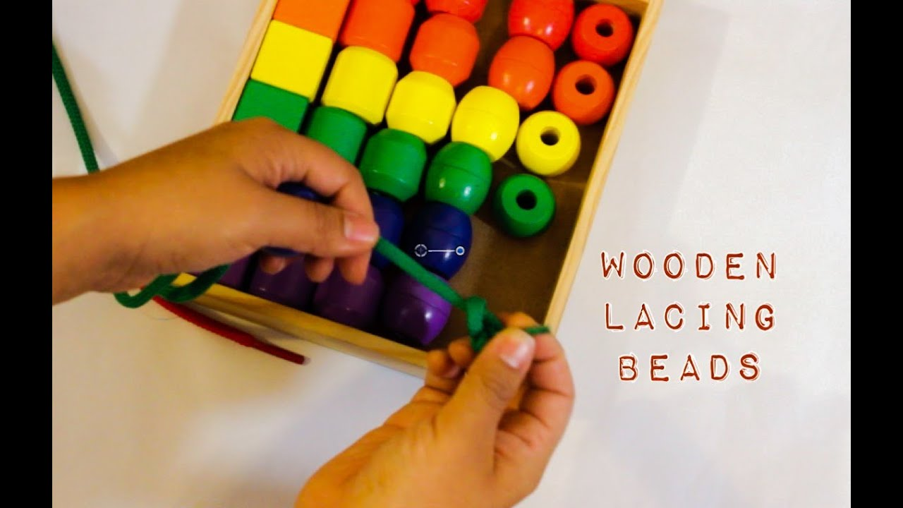 Wooden Lacing Beads Melissa And Doug