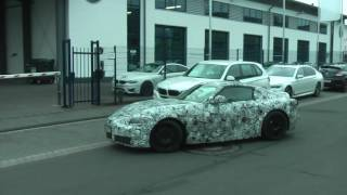 2018 Toyota Supra Or BMW Z5 Coupe Spied On The Road - Part 2?