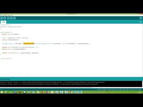 ESP32 Arduino: Base64 encoding (using crypto/base64 lib