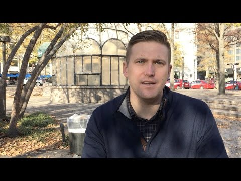 Richard Spencer, chairman of the National Policy Institute