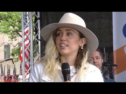 Miley Cyrus On Manchester Bombing: I Can't Wait To Hug Ariana Grande | TODAY