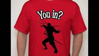 Ninja T-Shirt | Booster.Com| 15$