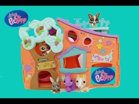 Littlest Pet Shop Doll House Tour