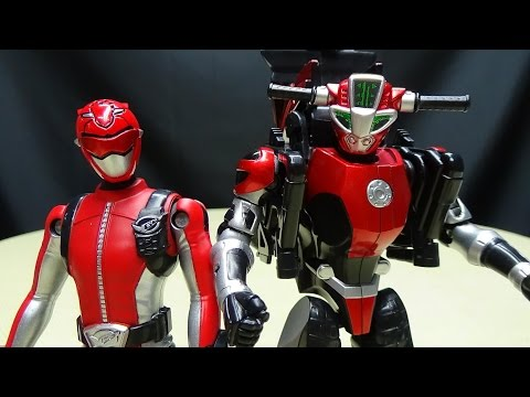 Go-Busters MBAF RED BUSTER & CHEEDA NICK: Emgo's Super Sentai Reviews N' Stuff