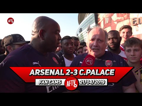Arsenal 2-3 Crystal Palace | Stop Resting Players! Emery Gets A 0/10 Today! (Claude Rant)
