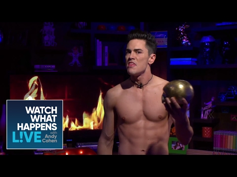Tom Sandoval Performs Hamlet  Topless Monologues  WWHL