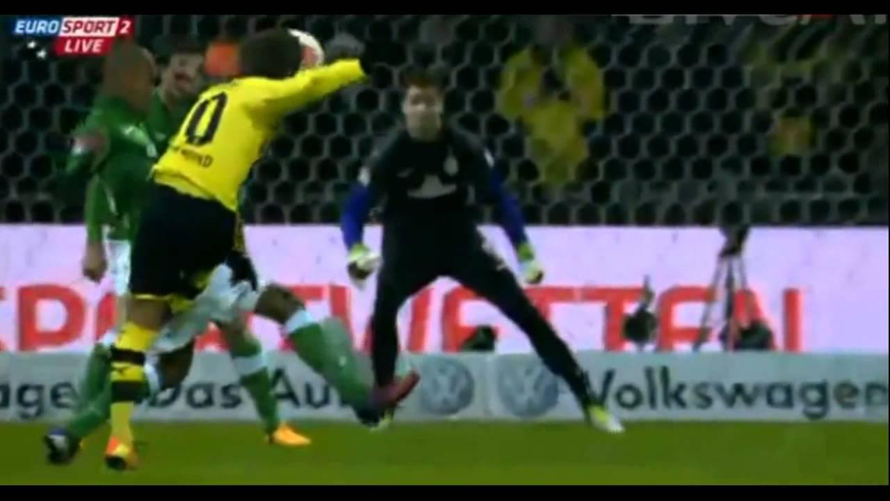 Download Todos os Gols - Werder Bremen 0 x 5 Borussia Dortmund - 19/01/2013 [HD]