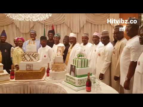 President Buhari's 75th birthday dinner